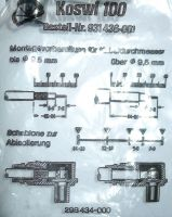TV coax connector male Hirschmann Koswi 100