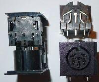 DIN chassisdeel 6p printmontage merkloos